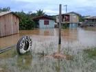 No AM, afetados pela cheia em cidade inundada terão INSS antecipado