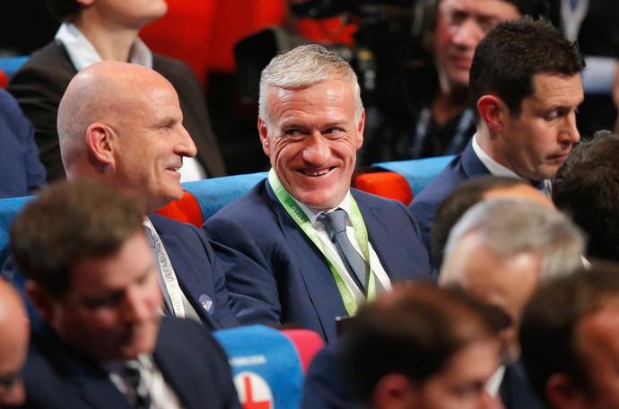Didier Deschamps técnico França (Foto: AP)