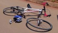 Ciclista é atropelado no DF e está em estado grave
