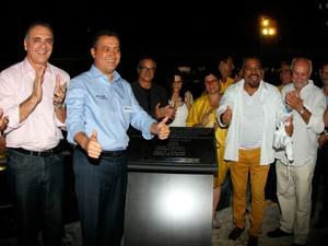 Governador inaugura oficialmente a nova Concha Acústica (Foto: Manu Dias/ GOVBA)