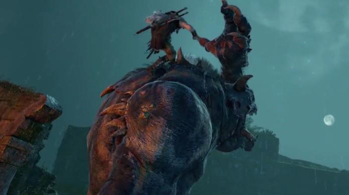 Prepare-se para enfrentar e domar criaturas assustadoras da Terra Média (Foto: Reprodução: YouTube)