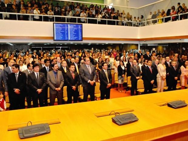 Assembleia Legislativa do Maranhão teve uma renovação de pouco mais de 50%.  (Foto: Divulgação/AL)