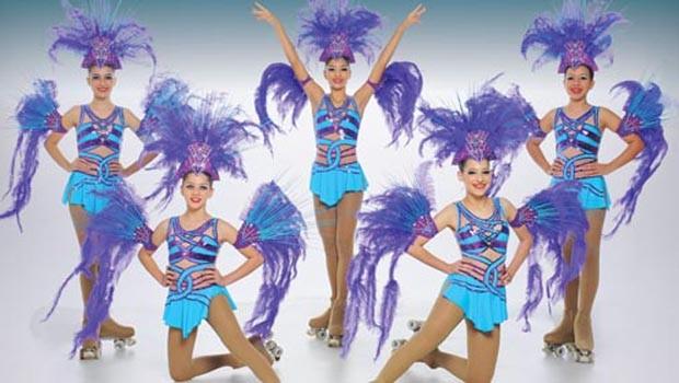 'Aplause Canta Brasil' apresenta um espetáculo de patinação artística  (Foto: Divulgação)