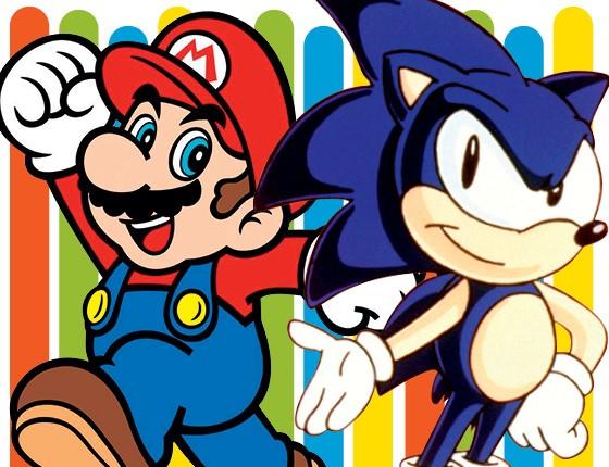 Sega x Nintendo (Foto: Época)