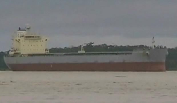 Navios petroleiros vão descarregar em Itacoatiara (Foto: Amazônia TV)