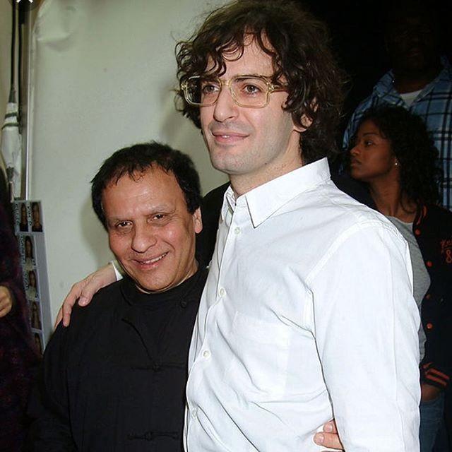 Azzedine Alaïa e Marc Jacobs (Foto: reprodução/instagram)
