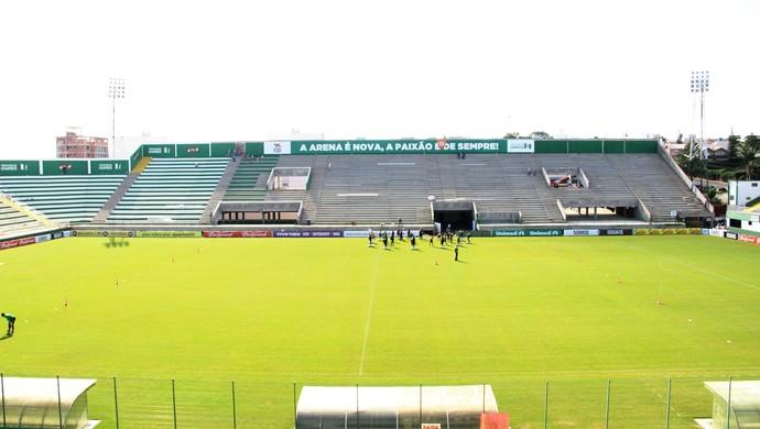 TR estádio Arena Condá dia (Foto: Diego Carvalho/Aguante/Chapecoense)