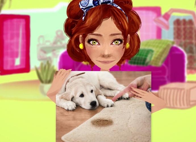 Aprenda a limpar o seu tapete sujo de xixi.  (Foto: sériesoriginais/Gshow)
