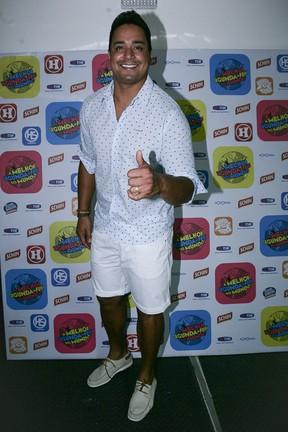 Xanddy em show em Salvador, na Bahia (Foto: Raphael Castello/ Ag. News)