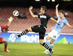 Klose. Napoli e Lazio (Foto: Agência AFP)