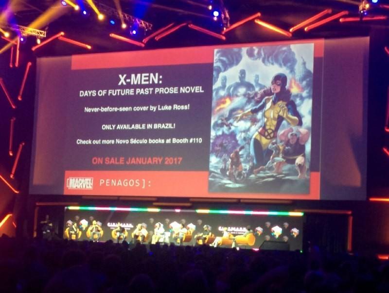 Luke Ross vai fazer mais coisa com X-Men (Foto: Marcus Toledo)