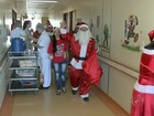 Voluntários fazem visita a crianças internadas em hospital de Bauru