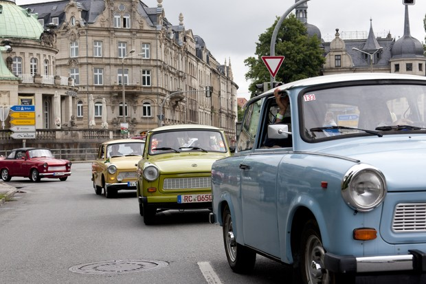 Encontro Trabants na Alemanha (Foto: Getty Images)
