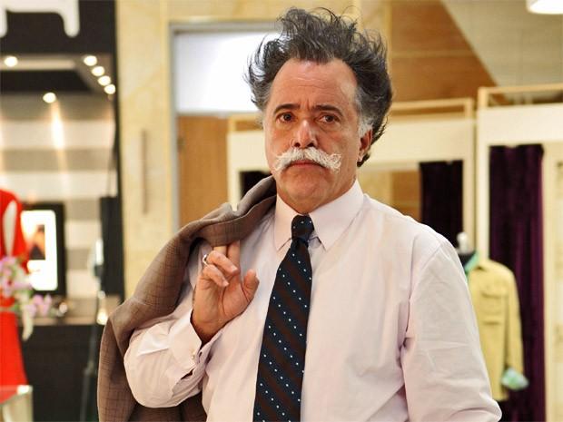 Otávio (Tony Ramos) aparece de cabelo em pé em Guerra dos ...