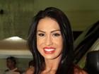 Gracyanne Barbosa não vai mudar dieta que a ajudaria engravidar