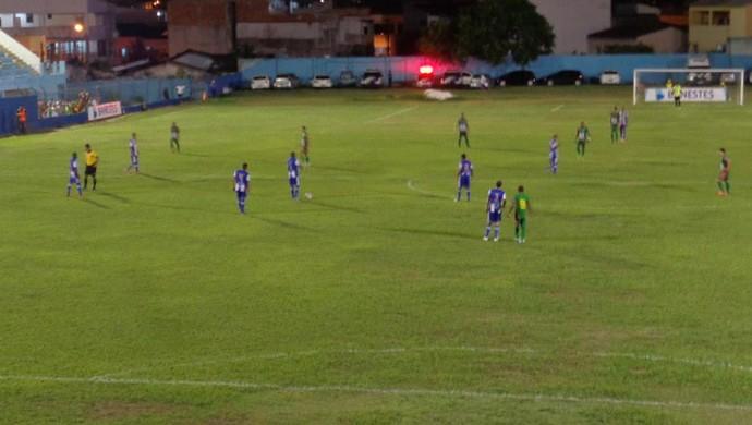 São Mateus vence o Conilon e segue na vice-liderança do Capixabão 2014 (Foto: Divulgação/AA São Mateus)