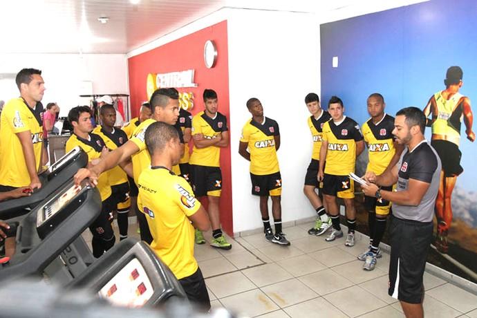 Daniel Gonçalves Preparador do Vasco (Foto: Reprodução / Site Oficial do Vasco)