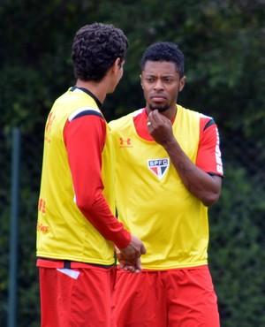 Michel Bastos Paulo Henrique Ganso São Paulo (Foto: Site oficial do SPFC)