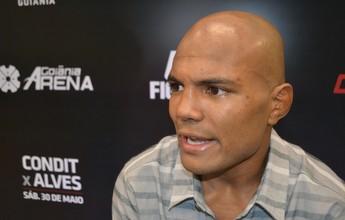 """Wilson Reis diz que aceitou luta contra Sandoval porque """"não tinha opção"""""""