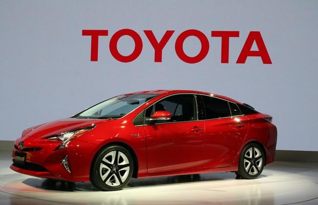 Nova geração do Toyota Prius é mostrada no Salão de Tóquio (Foto: Newspress)