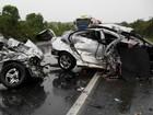 Enterradas três vítimas do acidente que matou sete em Soledade, RS