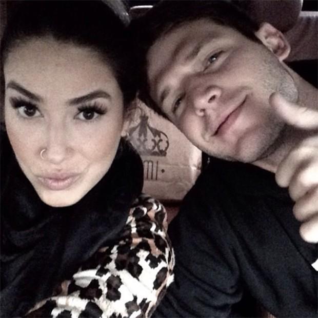 Dani Bolina e namorado (Foto: Instagram / Reprodução)