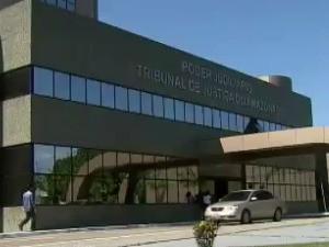 Tribunal de Justiça do Amazonas (Foto: Reprodução/ TV Amazonas)