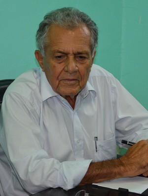 Carivaldo aprovou as votações realizadas (Foto: Felipe Martins/GLOBOESPORTE.COM)
