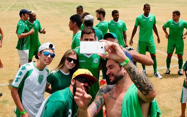 Torcida Guarani, jogo-treino