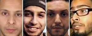 Quem são e o que se sabe sobre  os suspeitos dos ataques de Paris (Editoria de Arte / G1)
