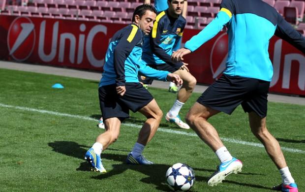 Xavi Barcelona (Foto: Reprodução / Site Oficial)