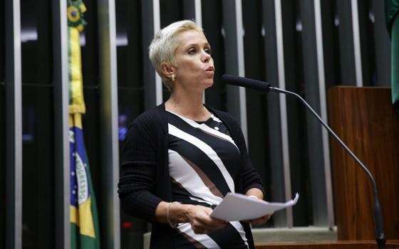 A deputada Cristiane Brasil (PTB-RJ) (Foto: Ananda Borges - Câmara dos Deputados)