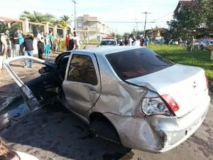 Fuga após assalto resulta na morte de um idoso, na manhã deste sábado (6), em Imbé (Foto: Brigada Militar / Divulgação)
