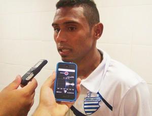 Maranhense diz que jogo contra o Vitória da Conquista exigirá a atenção dos azulinos (Foto: Henrique Pereira/ GloboEsporte.com)
