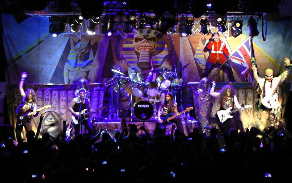 Children of The Beast homenageia o Iron Maiden nesta sexta (Foto: Divulgação)