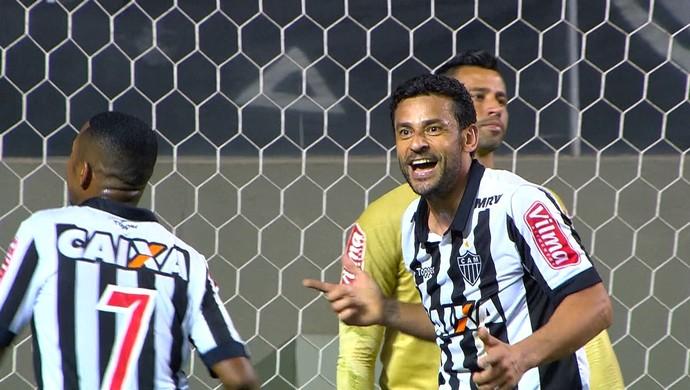 Independência; Atlético-MG; Cruzeiro; Fred (Foto: Reprodução / Premiere)