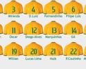 Seleção brasileira divulga numeração para enfrentar Uruguai e Paraguai
