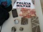 Polícia prende jovem por suspeita de tráfico de drogas em Timóteo