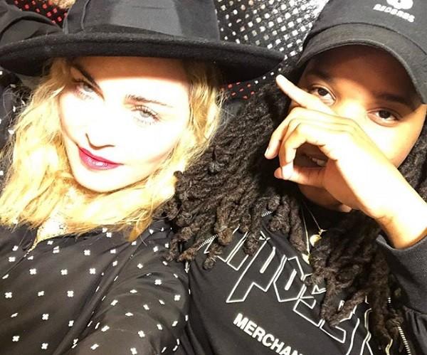 """Madonna posta foto com rapper e avisa: """" (Foto: Reprodução/ Instagram)"""