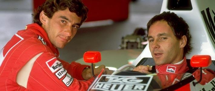 BLOG: Senna, Berger e o jogo de equipe
