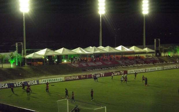 Estádio Barretão - Área vip (Foto: Jocaff Souza)