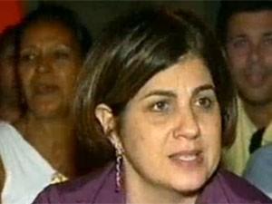 Rosinha Garotinho se mantém na prefeitura de Campos por liminar (Foto: Reprodução/TV Globo)