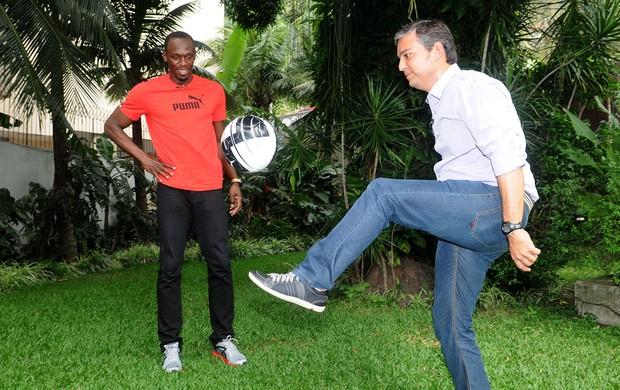Bolt Rio de Janeiro Esporte Espetacular entrevista (Foto: André Durão / Globoesporte.com)