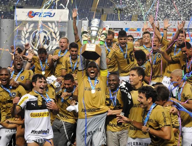 Botafogo campeão da Taça Guanabara (Foto: André Durão)