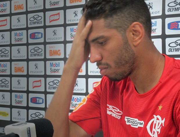 wallace flamengo (Foto: Janir Junior)