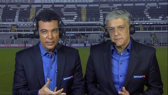 """Comentarista critica atuação de Lucas Lima e """"prevê"""" dificuldades no Barça"""