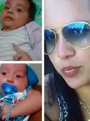 Izabella Gianvechio bebês gêmeos Uberaba (Foto: Reprodução/Facebook)