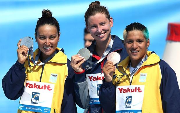 Poliana e Ana Marcela levam Brasil ao pódio com prata e bronze nos 5km