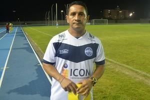 Técnico do Macapá,  Rudicley Bezerra (Foto: Rafael Moreira/GE-AP)