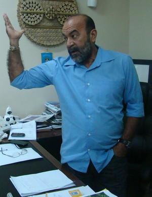 Cesarino Oliveira, presidente da FFP (Foto: Renan Morais/GLOBOESPORTE.COM)